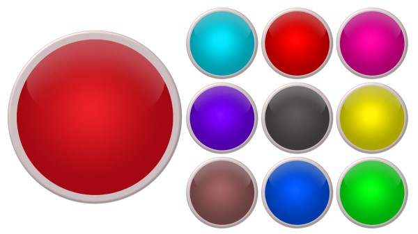 colorful button