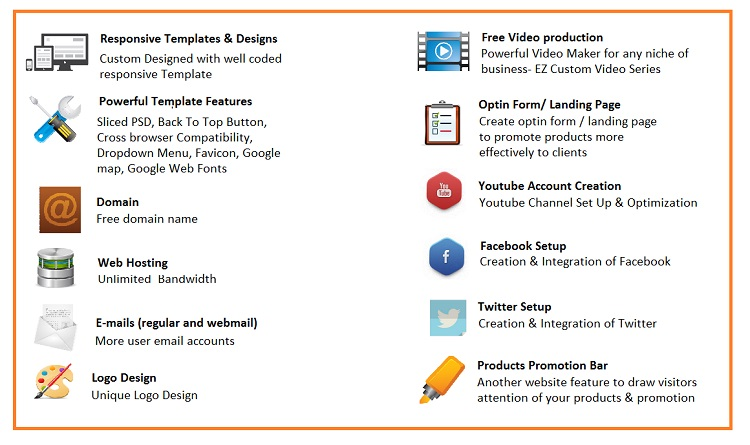 web business package feature